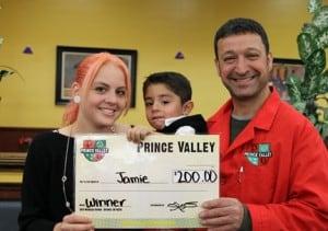 May's Shopping Spree Winner - Jamie Suarez